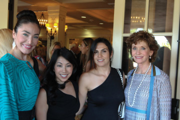 Nadia Castillo, Cheryl Haritatos, Fernanda Whitworth, and Susan Hoehn